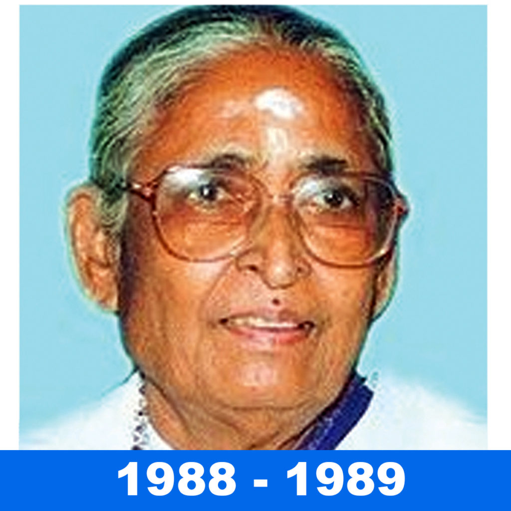 SMT MARAGATHAM CHANDRASEKHAR – Tamil Nadu Congress Mittee